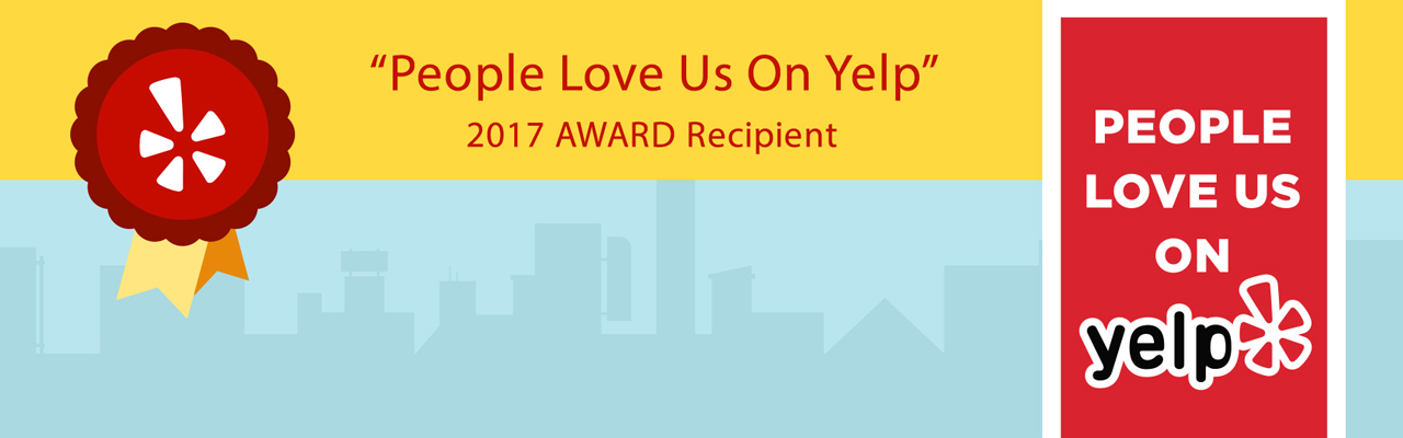 2017 Yelp Award for The Wax Shop