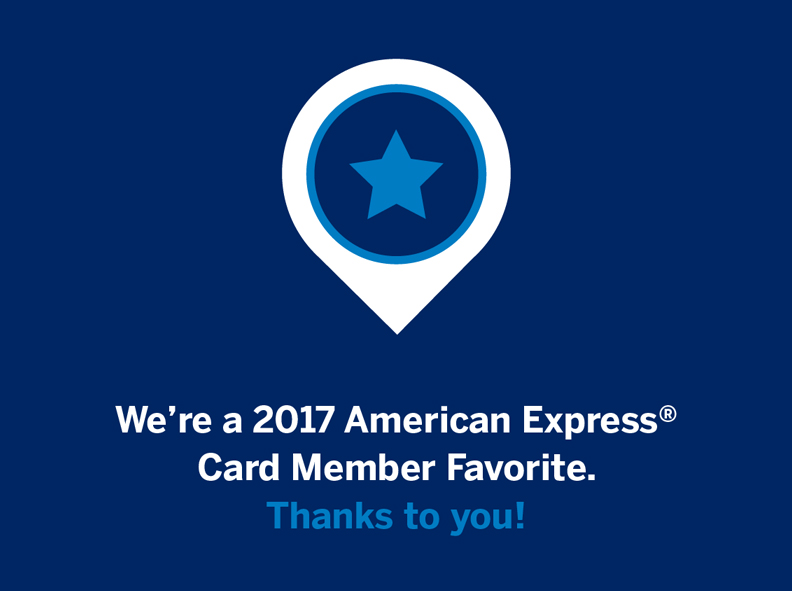 2017 American Express Favorite for The Wax Shop