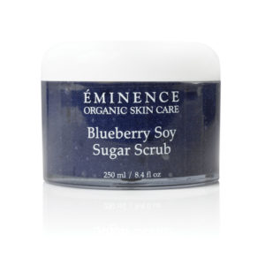 Blueberry Soy Sugar Scrub by Eminence Organics Sold by The Wax Shop
