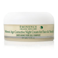 Monoi Age Corrective Night Cream for Face and Body by Eminence Organics Sold by The Wax Shop