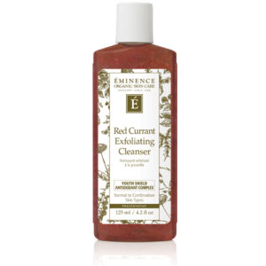 Red Currant Exfoliating Cleanser by Eminence Organics Sold by The Wax Shop