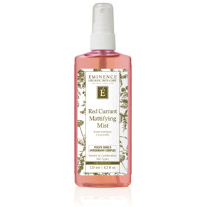 Red Currant Mattifying Mist by Eminence Organics Sold by The Wax Shop