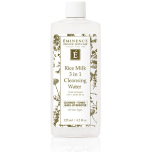 Rice Milk Cleansing Water by Eminence Organics Sold by The Wax Shop