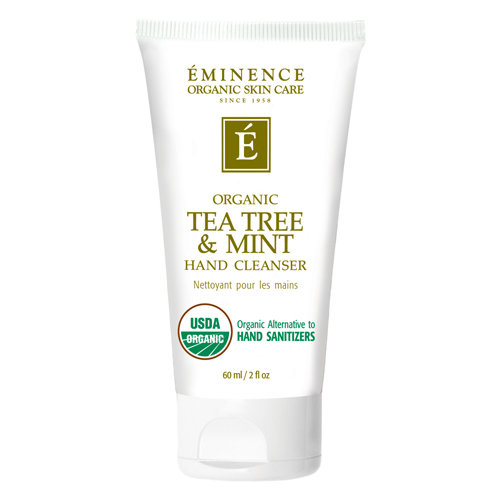 Team Tree & Mint Hand Cleanser by Eminence Organics Sold by The Wax Shop