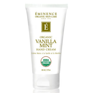 Vanilla Mint Hand Cream by Eminence Organics Sold by The Wax Shop