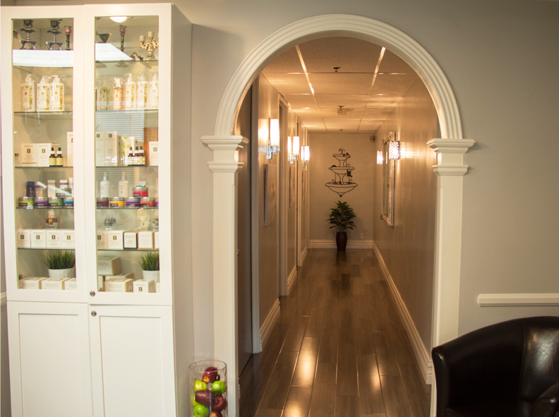 Image of The Wax Shop Hallway to Private Rooms