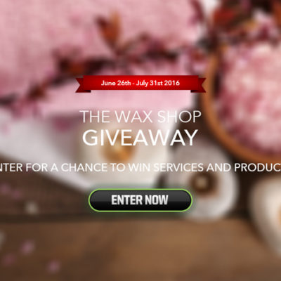 Enter for a chance to win The Wax Shop Giveaway