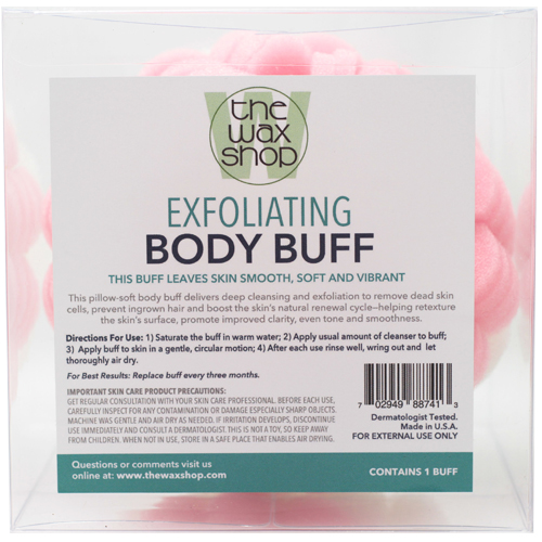 Exfoliating Body Buff by The Wax Shop