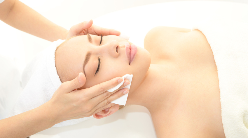 Lymphatic Drainage with regular facials